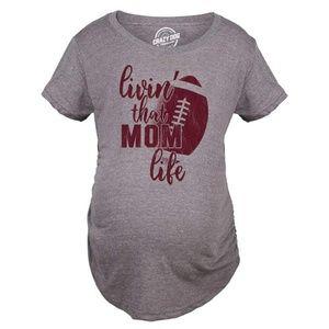 🔥🔥Livin That Mom Life Football T Shirt